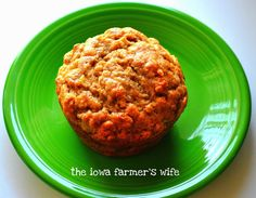 The Iowa Farmer's Wife: Banana Muffins