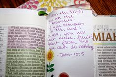 Sew Much To Say: Intentionally Focused Week 2: Your Spiritual Life