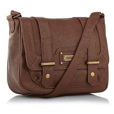 Chocolate brown medium satchel bag - Across body bags - Handbags & purses - Women -
