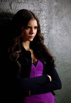 Nina Dobrev hair as Katherine Pierce on The Vampire Diaries Long and Wavy Hairstyles