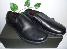 Bruno Magli Black Men's Leather Soft Italy Stretch Loafers Shoes Size 12 NEW #BrunoMagli #LoafersSlipOns