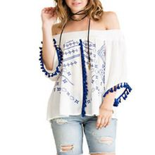 This is a beautiful off the shoulder top perfect for the Spring and Summer nights!!!