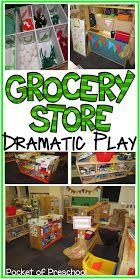 Pocket of Preschool: Grocery Store Unit Plan: Peek at my Month