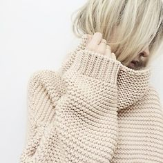 Beautiful hand knit sweater