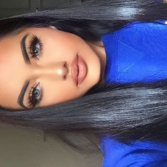Awesome Cute makeup tips are available on our internet site. Read more and you wont be sorry you did. Flawless Makeup, Gorgeous Makeup, Pretty Makeup, Skin Makeup, Beauty Make-up, Beauty Hacks, Hair Beauty, Make Up Looks, Karla Jara