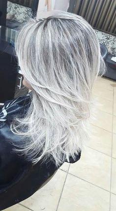Tendance Couleur Les Cheveux Gris Cheveux Gris