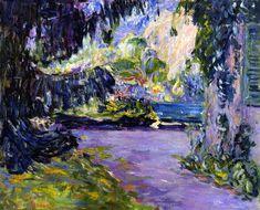 "dappledwithshadow: ""The Garden in the Shade Pierre Bonnard - circa 1901 """