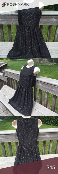 """French Connection Dress Bought this dress at Cusp. 100% polyester   The length is about 33""""  under the arms laying flat across is about 15""""  perfect condition French Connection Dresses"""