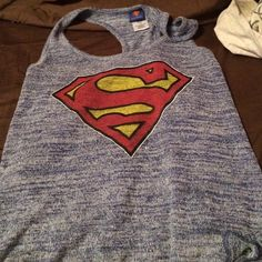 super man tank top super man tank top Tops Tank Tops