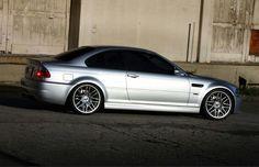 BMW E46 3 series silver