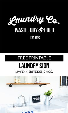 Printable Laundry Si