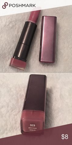 Covergirl Lipstick 💄 Covergirl LipPerfection Lip Color in 323 Delicious Exquis covergirl Makeup Lipstick