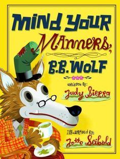 """If you ever read the Stinky Cheese Man , you'll love this one. The Big Bad Wolf receives a lesson in manners in this hilarious fairy tale that begins with a trip to the mailbox. While sorting through bills (including a rental fee for """"sheep's clothing""""), B. B. Wolf finds an invitation to the local library's storybook tea. Uncertain about attending, Wolf consults a crocodile friend, who points out that he'll have to behave himself... which, as you know, is tough for a wolf!"""
