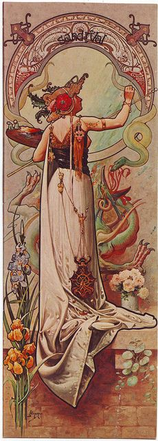 Sarah Bernhardt_Sandy Val (Art Nouveau and Turn of the Century Poster) by Performing Arts / Artes Escénicas on Flickr.