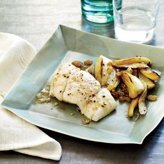 Halibut on Food & Wine