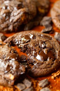 The Healthiest Double Chocolate Cookies - No refined sugar, butter, or all-purpose flour. And certainly NO guilt.