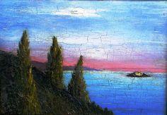 EGY ÚJ CSONTVÁRY KÉP TÖRTÉNETE... :: festmények-paintings Post Impressionism, Art School, Paths, World, Canvas, Painting, Landscapes, Tela, Paisajes