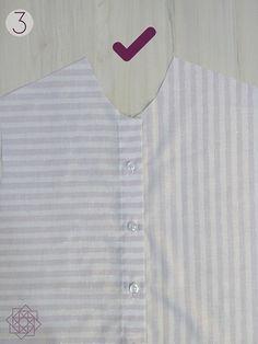 Tutorial de costura. Costura fácil. Molde gratis. Camisa a rayas. DIY Costura. DIY ropa. Patrón de costura gratis. Free sewing pattern. Design Blog, Costura Diy, Shirt Dress, Mens Tops, Sewing, Shirts, Fashion, Flower, Shirt Sewing Patterns