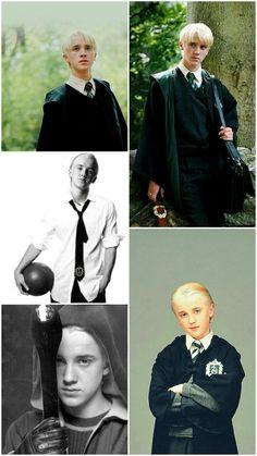 Draco Malfoy (Tomfelton) - Harry Potter - - picture for you Harry Potter Tumblr, Draco Harry Potter, Draco And Hermione, Mundo Harry Potter, Hermione Granger, Harry Potter Characters, Ron Weasley, Draco Malfoy Memes, Tom Felton