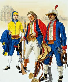 """""""The Spanish Army in North America - California & Northwest Coast, American War, Early American, Barbary Wars, Mexican Army, Seven Years' War, Age Of Empires, Le Far West, American Revolution, Military History"""