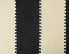 faucigny - rayure from pierre frey #fabric #black #stripe