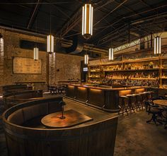 2015 Restaurant & Bar Design Award Winners Announced,Archie Rose Distilling Co. Australia / Acme & Co. Image Courtesy of The Restaurant & Bar Design Awards Design Café, Bar Interior Design, Restaurant Interior Design, Cafe Design, Design Ideas, Bar Design Awards, Cafe Restaurant, Restaurant Lighting, Luxury Restaurant