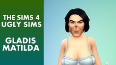 The Sims 4 - Ugly Sim Gladis Matilda