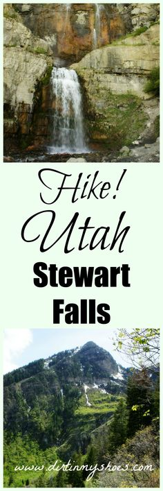 Stewart Falls Trail || Provo Canyon || Dirt In My Shoes