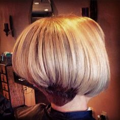 how to do easy hair styles angled inverted bob with clipper cut nape inverted bob s 3979