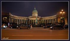 казанский собор с невского проспекта