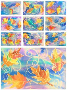 Swirling Leaves Art Lesson Students will explore the elements of line and texture while learning the technique for printmaking in this awesome Autumn art lesson of swirling leaves. The post Swirling Leaves Art Lesson appeared first on Best Pins. Texture Art Projects, Art Texture, Fall Art Projects, 3rd Grade Art Lesson, Third Grade Art, Art Lessons For Kids, Art Lessons Elementary, Art Sub Plans, Art Lesson Plans