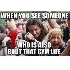 Tag your gym buddies!