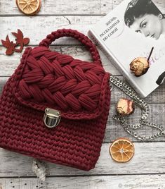 2862e107041a Handbags handmade. Livemaster - handmade. Buy Bag knitted color Marsala.Bag