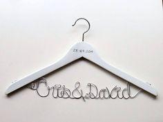 Custom Hanger Bride / Percha Personalizada Novia