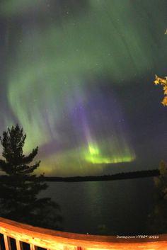 Northern lights in Minnesota by Dan330