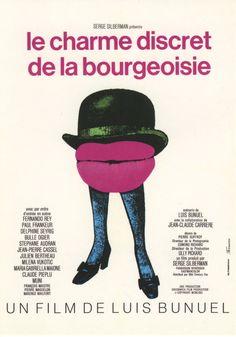 38.- Le charme discret de la bourgeoisie (1972) 5 de 5 Director: Luis Buñuel