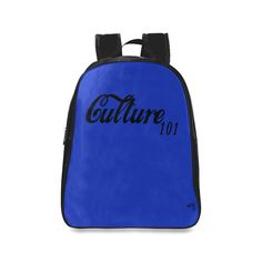 Culture 101 Blue Backpack c9533ecee8fe0