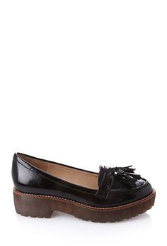 6.5. Tasseled Platform Loafers | FOREVER 21 - 2000057080