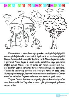 Learn Turkish Language, Worksheets, Coloring Pages, Preschool, Diagram, Comics, Learning, Children, Artist