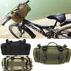 Men SWAT MOLLE Limitary Tactical Hiking Utility Waist Hand Shoulder Bag Pouch   eBay
