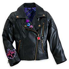 Descendants Faux Leather Jacket for Girls