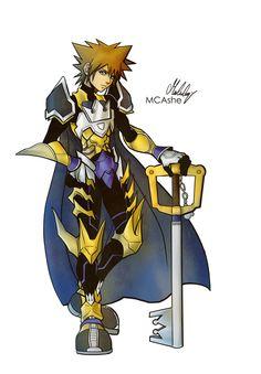 Keyblade Master Sora by MCAshe