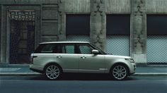 Land Rover - Range Rover Ad Car, Combustion Engine, Heaven Sent, Luxury Suv, Interactive Design, Range Rover, Automobile, Garage, Objects