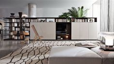 Molteni&C best quality brand of contemporary interior design, modern furniture design Italian Furniture, Luxury Furniture, Furniture Design, Luxury Homes Interior, Interior Architecture, Interior Design, Living Tv, Living Spaces, Tv Wanddekor