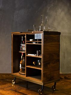 Want this mini bar at Tribeca's French Laundry : Remodelista