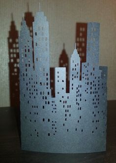 DIY New York City skyline stand alone. by hilemanhouse on Etsy, $2.49
