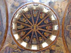 Istanbul - Sant Salvador de Chora. Cúpula