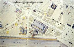 plan de l'exposition universelle de 1855