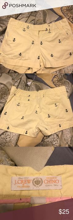 J Crew chino shorts In perfect condition!! J. Crew Shorts