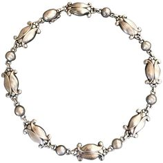 Georg Jensen Sterling Silver Necklace, No. 15 1